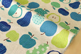 Japanese Fabric - fruit canvas - C