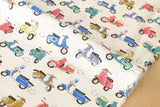 Japanese Fabric - Vespa canvas - fat quarter
