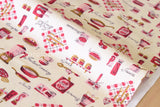 Japanese Fabric Yuwa Vintage Kitchen