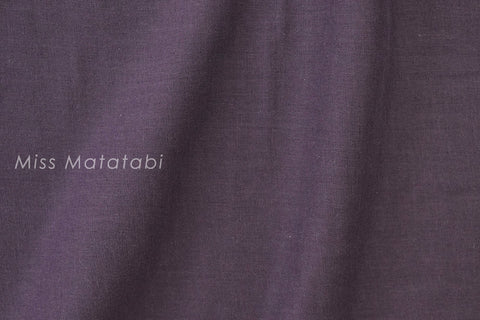 Kobayashi solid double gauze - purple