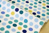 Japanese Fabric - little dots canvas - C - fat quarter