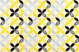 Japanese Fabric - Japanese flower canvas - B - fat quarter