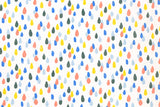 Japanese Fabric - paint drops double gauze - A