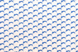Japanese Fabric - tobi cat cotton lawn - blue