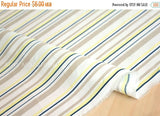 Japanese Fabric - lawn stripes  - A