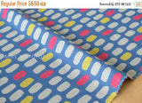 Japanese Fabric - jellybean tiles canvas - E