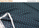 Cotton + Steel Frock rayon - Gemstone - teal , charcoal