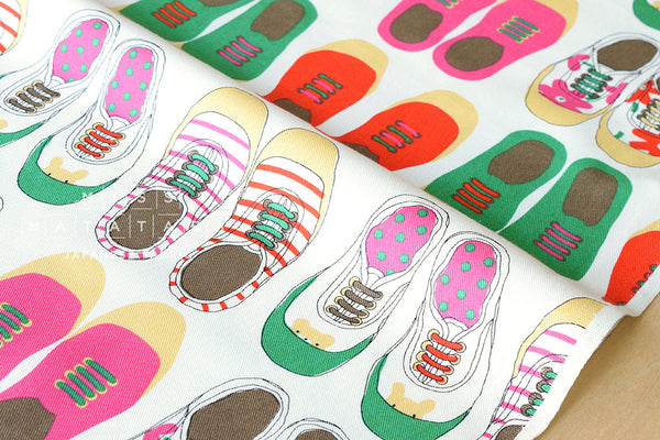 Japanese Fabric - sneakers twill - A