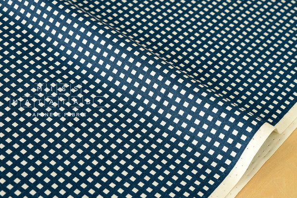 Japanese Kei Fabric Squares - blue