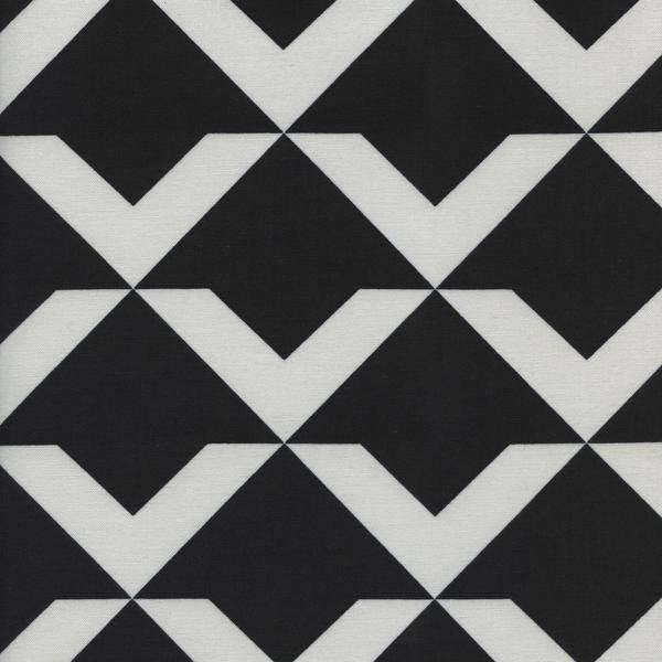 Cotton + Steel Black + White - Up and Up Black - fat quarter