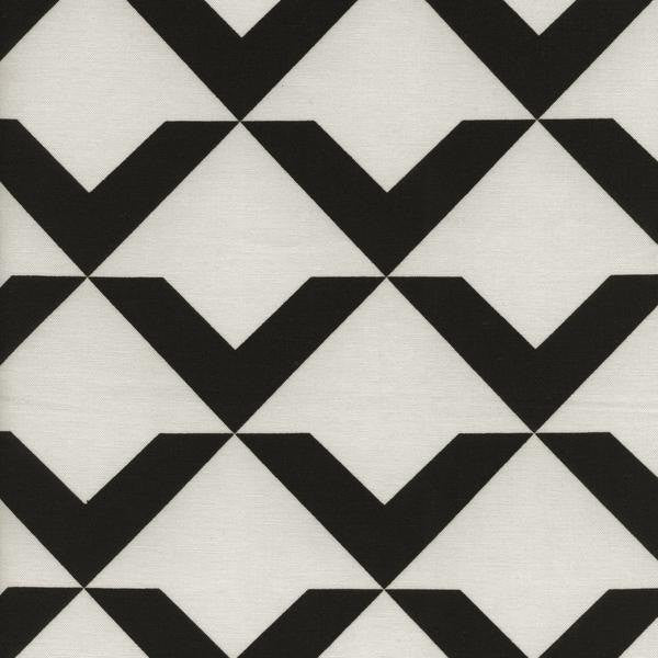Cotton + Steel Black + White - Up and Up Oyster - fat quarter