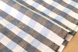 Half Linen Yarn Dyed Gingham