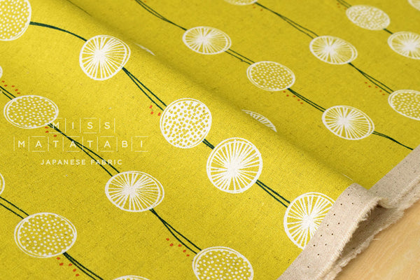Kokka Tayutou - root crop - B - fat quarter