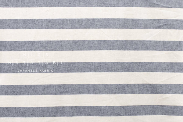Yarn dyed large stripes - A