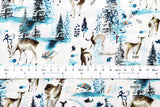 Winter Forest - blue - fat quarter