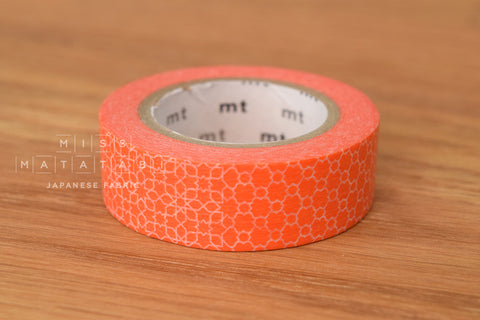 Washi masking tape - mt1P linepattern red  MT01D293