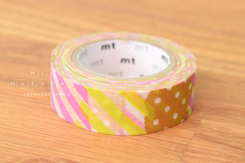 Washi masking tape - mt1P tsugihagi I  MT01D173