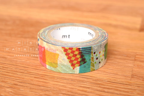 Washi masking tape - mt for kids 1P petapeta  MT01KID020