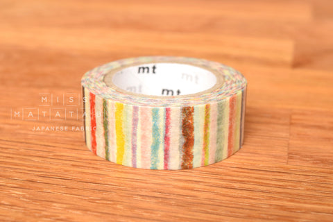 Washi masking tape - mt for kids 1P shimashima  MT01KID019