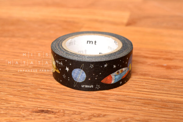 Washi masking tape - mt for kids 1P planet  MT01KID022