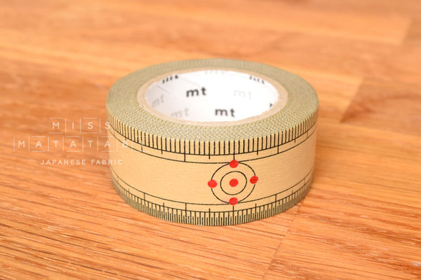 Washi masking tape - mt ex bamboo ruler  MTEX1P97