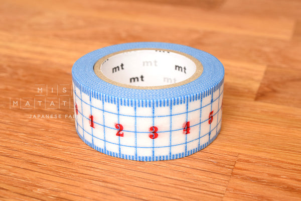 Washi masking tape - mt ex ruler  MTEX1P96