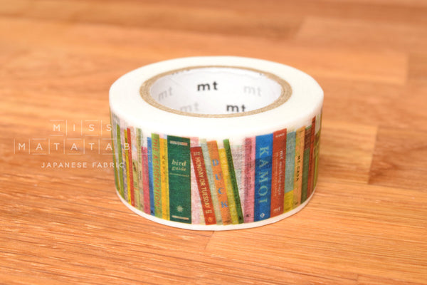 Washi masking tape - mt ex books  MTEX1P112