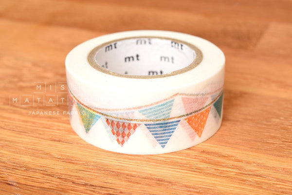 Washi masking tape - mt ex flag  MTEX1P82