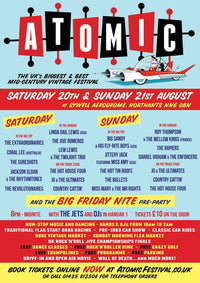NEWS | BIG EVENT BOOKED! Atomic Vintage Festival