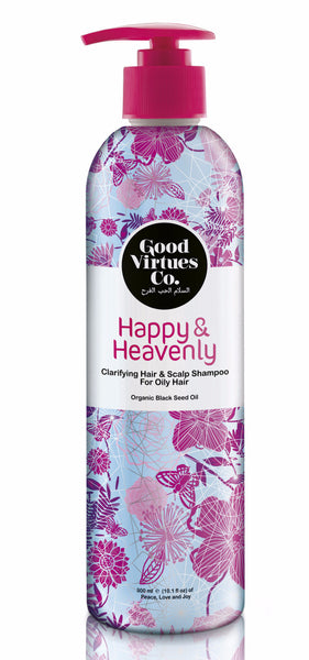 Happy & Heavenly Clarifying Hair & Scalp Shampoo (Hair Fall Protection) - VivaQueenBee