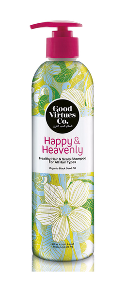 Happy & Heavenly Healthy Hair & Scalp Shampoo (Hair Fall Protection) - VivaQueenBee
