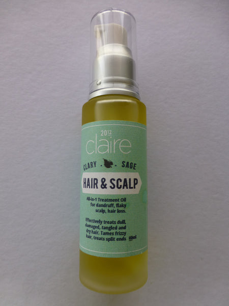 Clary Sage Hair and Scalp Treatment Oil - VivaQueenBee