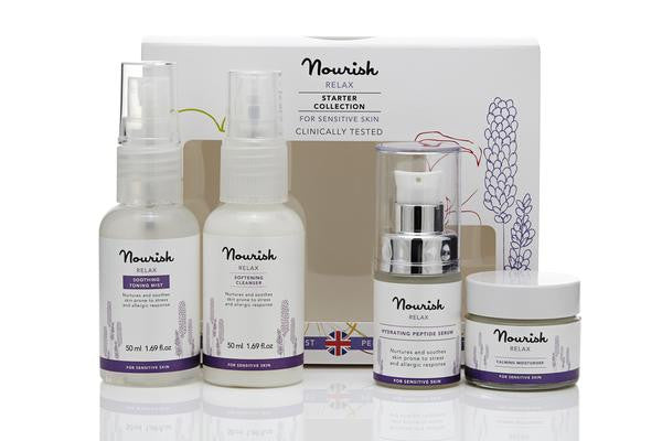 Nourish Sensitive Skin Starter Kit Set - VivaQueenBee