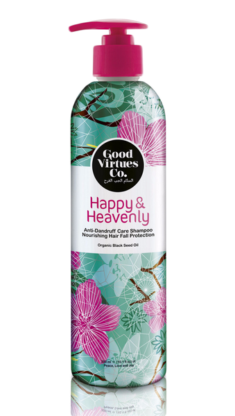 Happy & Heavenly Anti-Dandruff Care Shampoo (Hair Fall Protection) - VivaQueenBee