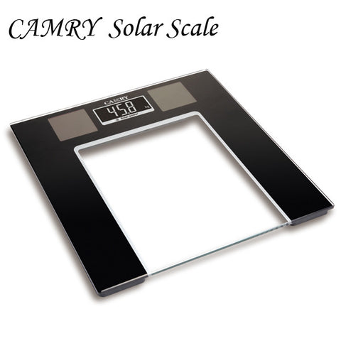 Camry Electronic Personal Solar Scale Solar power Reverse LCD