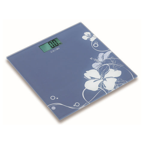 Camry Electronic Personal Scale Silk print patterns Ultra slim 1.6cm
