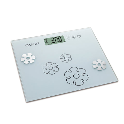 Camry Body Fat/Hydration Monitor Scale Super slim fashionable pattern