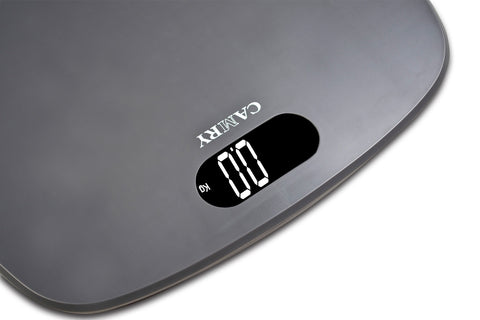 camry 400lbs / 180kgs digital bathroom scale white backlight lcd