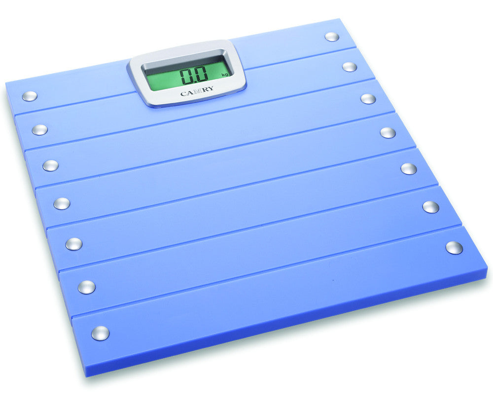 Camry 300lbs / 150kgs Electronic Bathroom Scale Fashionable Pattern  Comfortable Weighing Platform