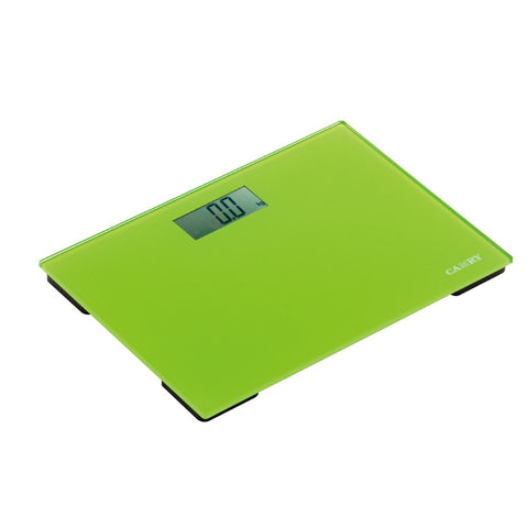 Camry 300lbs / 150kgs Electronic Personal Scale Ultra-slim, colourful, Portable (Green/ Yellow/ Blue/ Red)