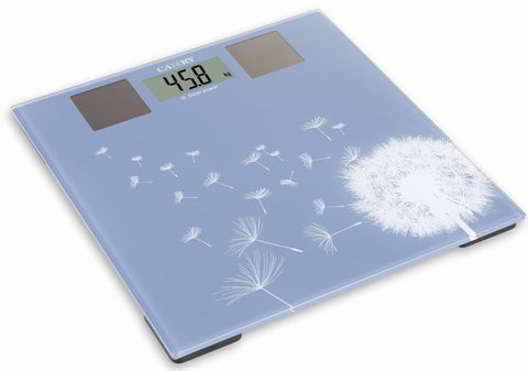 Camry 300lbs / 150kgs Electronic Personal Scale Solar Bathroom Scale Beautiful Garden Pattern