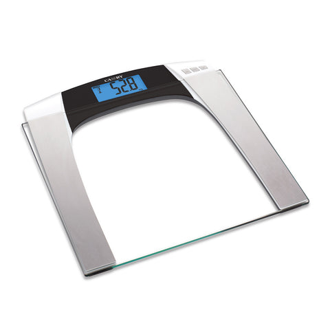 Camry 330lbs / 150kgs Body Fat/Hydration Monitor Scale Blue backlight Big LCD display