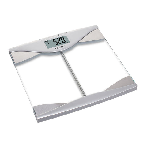 EF542 Body Fat/Hydration Monitor Scale Simple & Fashionable Pattern (Silvery/Brown)