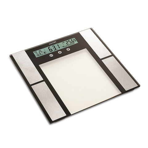 Camry 330lbs / 150kgs Body Fat Monitor Scale 12 users memory functions with ultra slim 6 mm tempered glass
