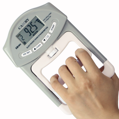 CAMRY Digital Hand Dynamometer - 90 Kg / 200 lbs (Backorder, estimated ship out in middle April)