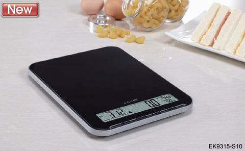 Electronic Kitchen Scale - Black/ White