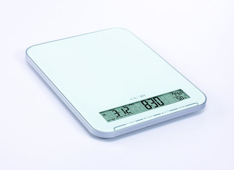 Camry Electronic Kitchen Scale   Black/ White
