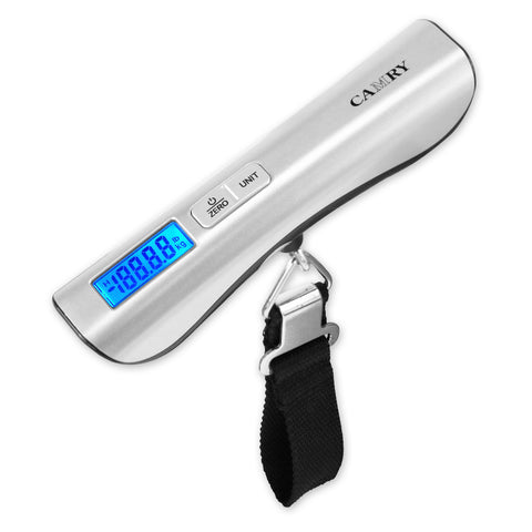 Camry Digital Luggage Scale Backlight 110lbs