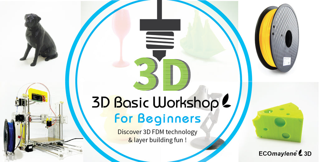 3D Basic Workshop - ECOmaylene3D