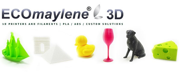 ECOmaylene3D Filaments - Made in Singapore